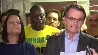 'O que ocorreu hoje nas urnas não foi a vitória de um partido, mas do povo', diz Bolsonaro