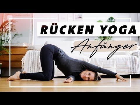Yoga Rücken Anfänger Programm | Übungen gegen Verspannungen und Rückenschmerzen