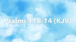 God's Time:  Psalms 118:14 (KJV)