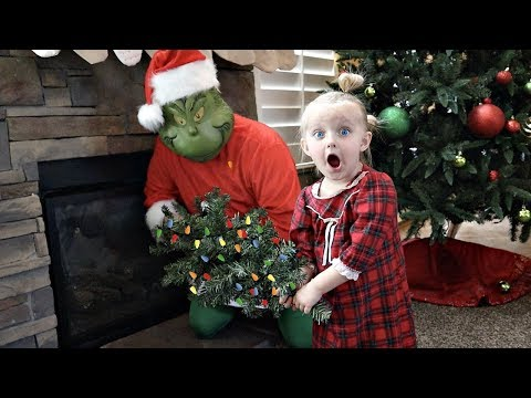 THE GRINCH Stole Our CHRISTMAS!