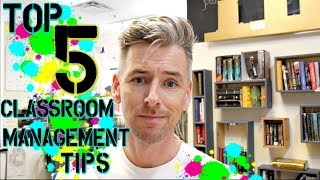 5 Tips On Classroom Management | High School Teacher Vlog