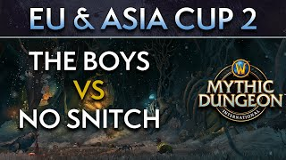 The Boys vs No Snitch | Day 1 Lower Round | EU & Asia Cup 2