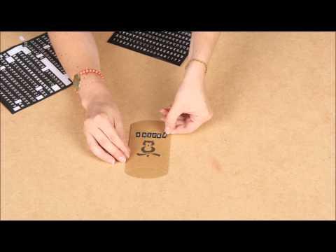 Tutorial DIY Halloween arancione: La scatola delle caramelle