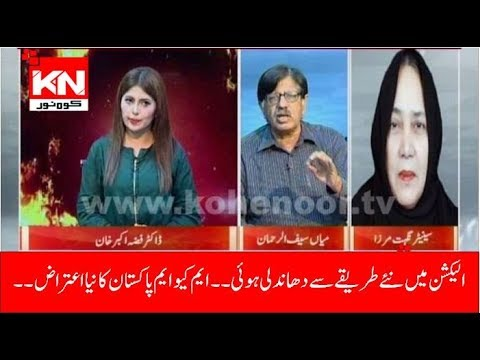Hot Seat With Dr Fiza Khan 07-08-2018 | Kohenoor News Pakistan