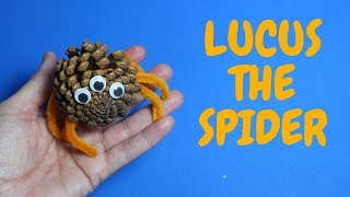 Lucas The Spider Craft Idea | Halloween Crafts For Kids