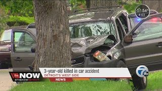 3-year-old killed in car accident