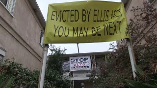Rodney Dr. Tenants, the day before their Ellis Act eviction