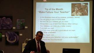 "Tip of the Month ""Make Failure Your Teacher"" by Dennis Henson"