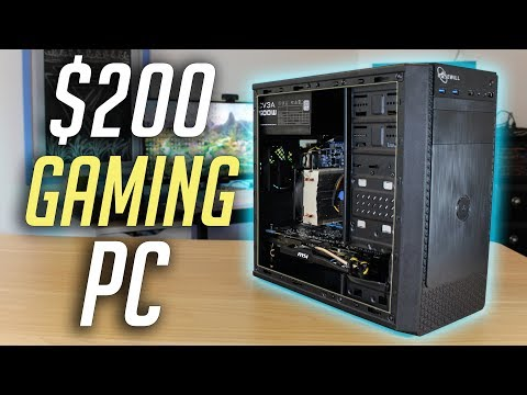 $200 Budget Gaming PC Build! (2019)