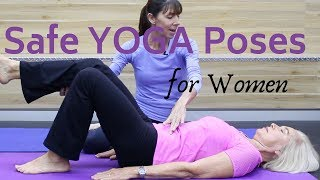 How to Safely Modify Yoga Poses After Hysterectomy or Pelvic Prolapse