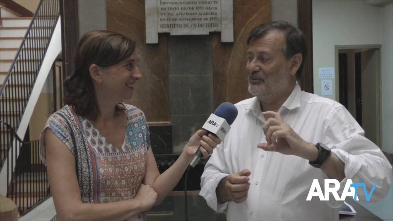 """Manolo Gomicia (reg. territori d'Alcoi): """"La gent pel que més pregunta és pel tema d'accessibilitat"""""""