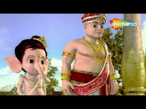 Bal Ganesh - Part 9 Of 10 - Popular Cartoon Movie for Kids