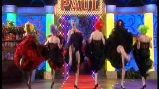 Les Cagelles on the Paul O'Grady Show