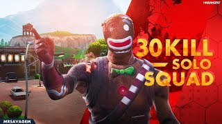30 KILL SOLO SQUAD (INSANE PLAYS)  - Fortnite Battle Royale