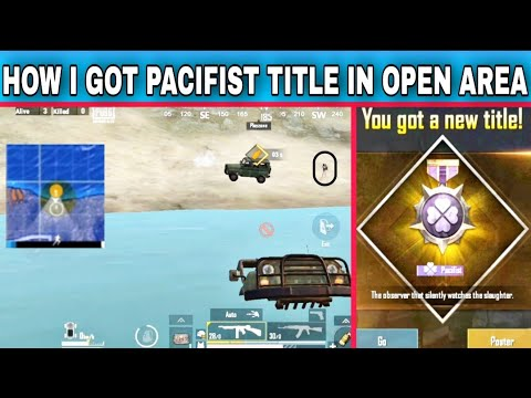 Download How I got PACIFIST title in an open area | pubg lite gameplay HD Mp4 3GP Video and MP3