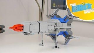 LEGO Thunderbird 1 (Mark 2)-MOC SHOWCASE