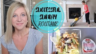 SUNDAY ROUTINE FOR A SUCCESSFUL & PRODUCTIVE WEEK | MEAL PREP, CLEANING & MORE!