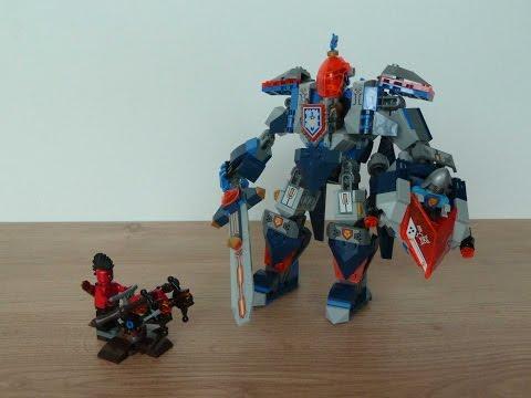 Vidéo LEGO Nexo Knights 70327 : Walmart – Le robot du roi