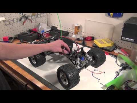 Initial mods to my traxxas stampede 4x4 - смотреть онлайн на