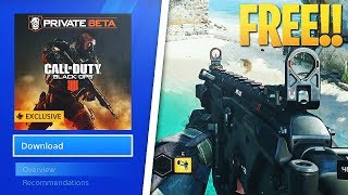 HOW TO GET THE BLACK OPS 4 BETA FOR FREE (No Credit Card, No Pre-Order) NOT CLICKBAIT