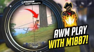 King Cobra AWM Snipe In Squad Match 9 Kills Must Watch - Garena Free Fire