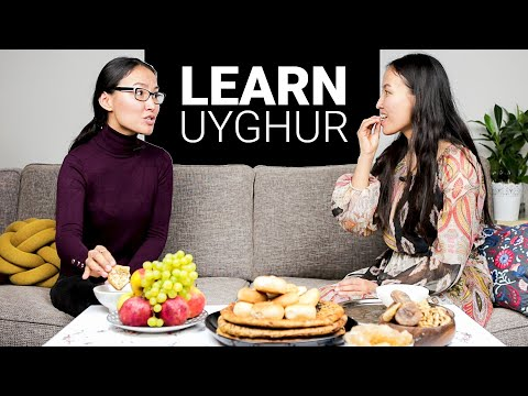 Learn Uyghur, TOP 5 SENTENCES For At The Uyghur Table, Special Episode 001