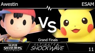 USW 11 - TLOC | Awestin (Ness) vs PG | ESAM (Pikachu) Grand Finals - SSBU