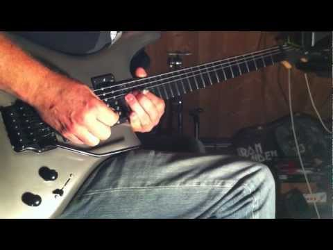 Zeal Mercury guitar, Axe FX II on an AC/DC standard rock song