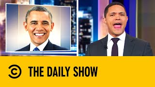 Barack Obama Launches A Podcast   The Daily Show With Trevor Noah