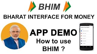 BHIM APP Live Demo - How to Install & Use Bharat Interface for Money Android APP