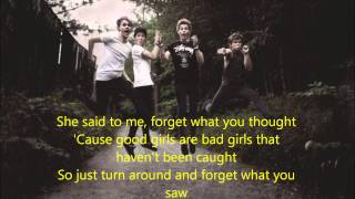 5 seconds of summer - Good Girls are Bad Girls (lyric video, also in description)