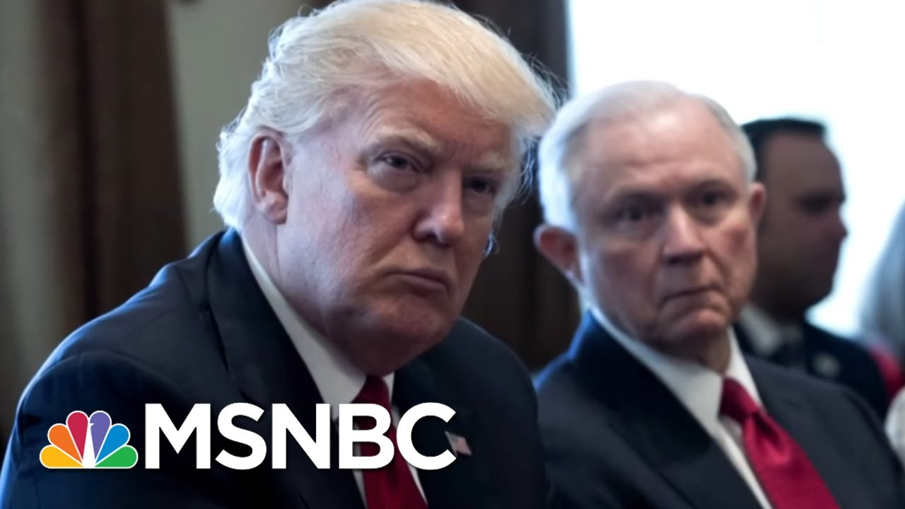 NYT: Andrew McCabe Feared Rod Rosenstein Provided Trump Cover For Firing Comey   Hardball   MSNBC thumbnail