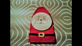 Santa Claus Felt Finger Puppet