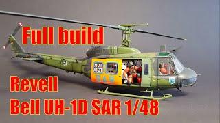 Baubericht/ Full build Bell UH-1D SAR Revell 1/48