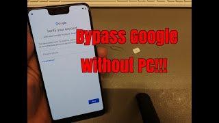 BOOM!!! Google Pixel 3 XL. Remove Google Account,Bypass FRP.