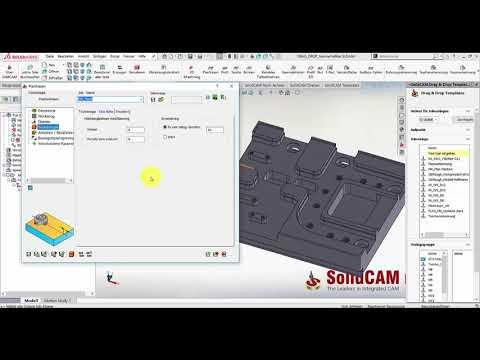 SolidCAM 2019 – Geometriefilter für Vorlagen abspeichern