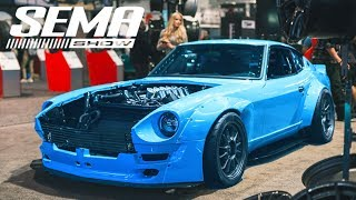 SEMA Special Access Media Tour! [4K] - Day 2 Las Vegas