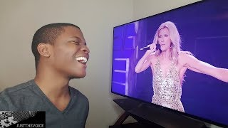 "Celine Dion   ""Flying On My Own"" (REACTION)"