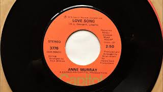 Love Song , Anne Murray , 1973