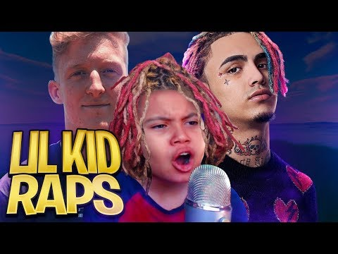 "LITTLE KID RAPS LIKE LIL PUMP ON FORTNITE WTF! ""Butterfly Doors"" HE PLAYS LIKE TFUE OMG HE SO GOOD!! - MindofRez"