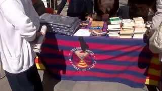preview picture of video 'Diada de Sant Jordi, Sant Andreu de la Barca (27-4-2014)'