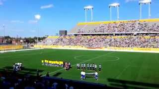 Uruguay vs Brazil - Brazilian and Uruguayan National Anthems - Pan Am Football 2015