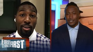 Greg Jennings on Cam's future & chance for extension with Pats   NFL   FIRST THINGS FIRST