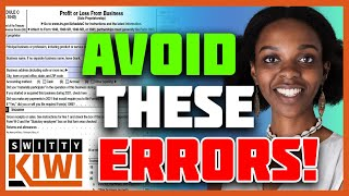 Schedule C (Form 1040) 2020-2021 Instructions | How to Prepare Sched C | Full Guide ♻️ TAXES S1•E16