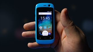 Самый маленький смартфон — Jelly