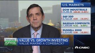 Will value stocks make a comeback?