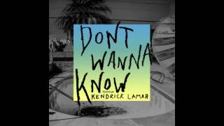 Maroon 5 - Don't Wanna Know ft. Kendrick Lamar (Download MP3)