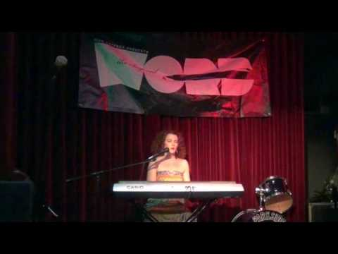 """Kelly sang her original song, """"Her Blues,"""" as a featured performer at the prestigious InspiredWordNYC."""