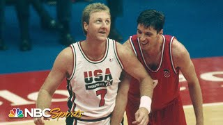 Larry Bird Dominates With The Dream Team | NBC Sports