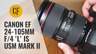 Old vs. New: Canon EF 24-105mm f/4 IS USM 'L' ii lens review and comparison video